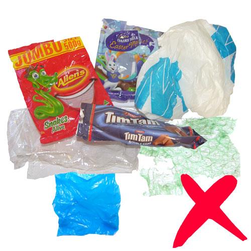 Cling Wrap, Packets, Bubble Wrap