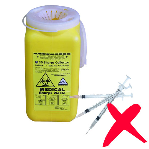 Syringes and Medical Waste